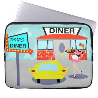 1950's Diner Laptop Bag