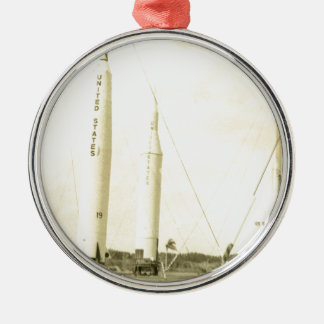 1950's Rocket Christmas Ornament