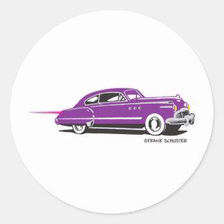 1951 Buick Super Riviera Classic Round Sticker