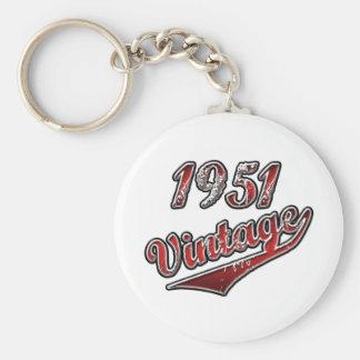 1951 Vintage Key Ring