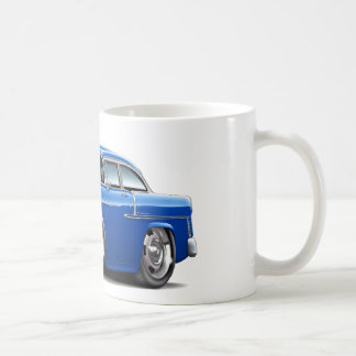 1955 Chevy Belair Blue Car Coffee Mug
