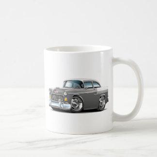 1955 Chevy Belair Grey-White Car Coffee Mug