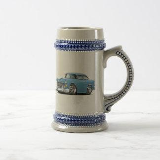 1955 Chevy Belair Lt Blue Car Beer Stein