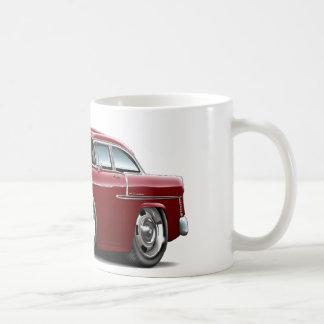 1955 Chevy Belair Maroon Car Coffee Mug