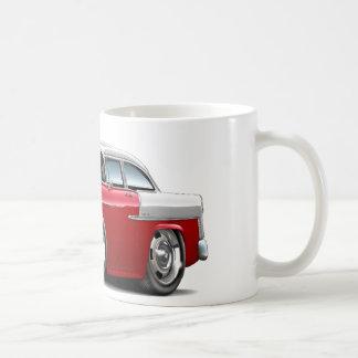 1955 Chevy Belair Red-White Car Coffee Mug