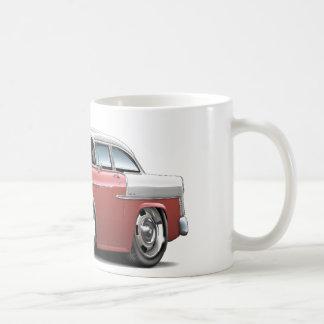 1955 Chevy Belair Salmon-White Car Coffee Mug