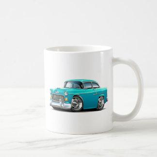 1955 Chevy Belair Turquoise Car Coffee Mug