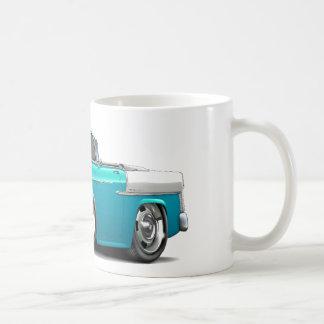 1955 Chevy Belair Turquoise-White Convert Coffee Mug