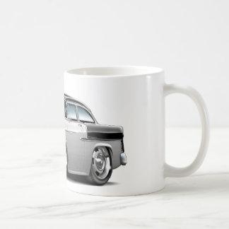 1955 Chevy Belair White-Black Car Coffee Mug