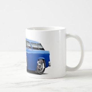 1955 Chevy Nomad Blue Car Coffee Mug