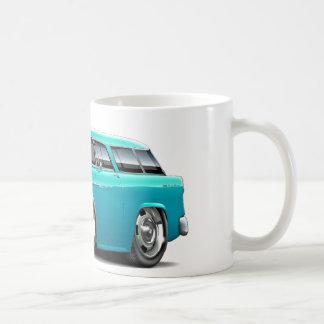 1955 Chevy Nomad Turquoise Car Coffee Mug