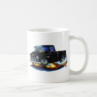 1955 Chevy Pickup Black Truck Coffee Mug