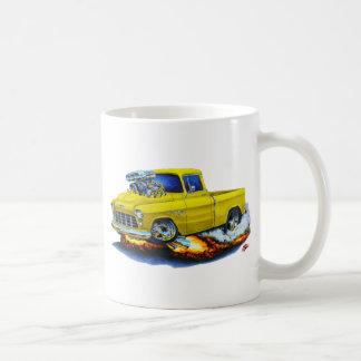 1955 Chevy Pickup Yellow Truck Coffee Mug