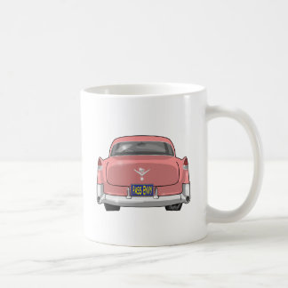 1955 Pink Cadillac Coffee Mug
