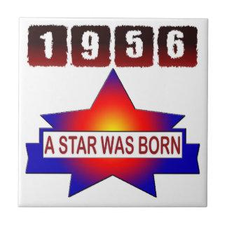 1956 A Star Was Born Small Square Tile
