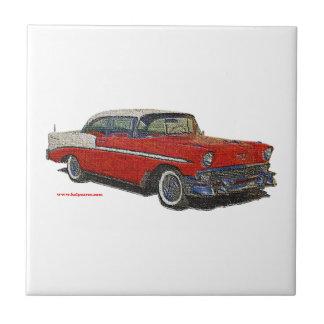 1956_Chevrolet_emboss Tiles