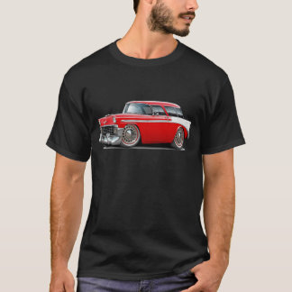 1956 Nomad Red-White Car T-Shirt