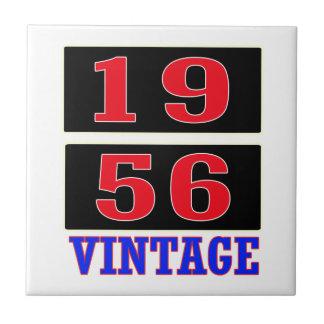 1956 Vintage Small Square Tile