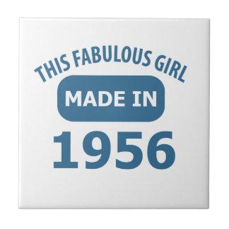1956 year fabulous designs tile