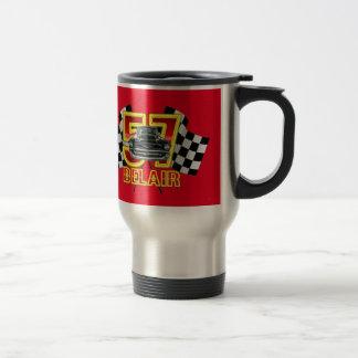 1957 Chevy Belair Coffee Mug. Travel Mug