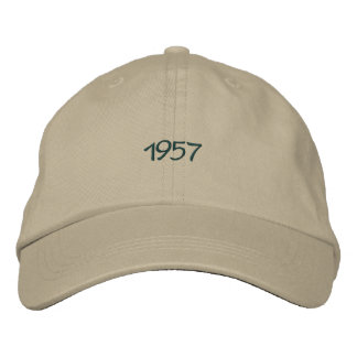 1957 Embroidered Hat