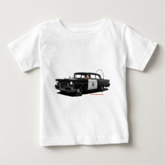 1957-mercury-monterey-highway-patrol-car baby T-Shirt