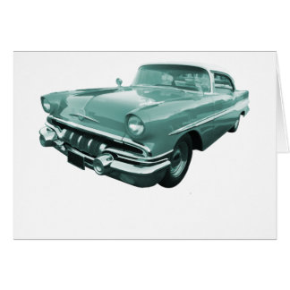 1957 Pontiac Star Chief Card