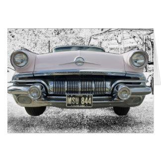 1957 Pontiac Super Chief Card