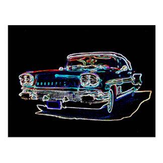 1958 Pontiac Postcard