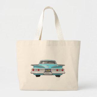 1960 Chevrolet Impala Large Tote Bag