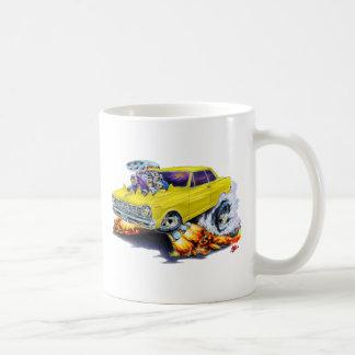 1962-65 Nova Yellow Car Basic White Mug