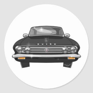 1962 Buick Special Classic Round Sticker