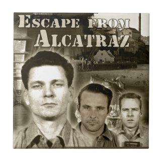 1962 Escape From Alcatraz - Morris & Anglins Tile