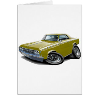1964-65 Cutlass Gold Car Card