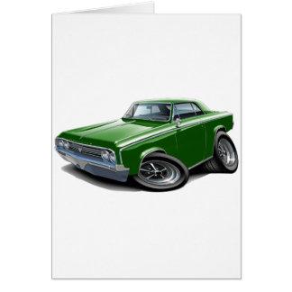 1964-65 Cutlass Green Car Card