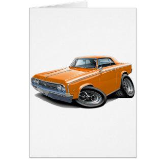 1964-65 Cutlass Orange Car Card