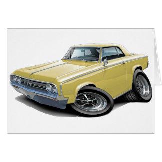 1964-65 Cutlass Tan Car Card