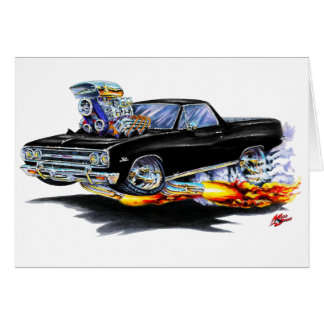 1964-65 El Camino Black Truck Card