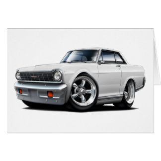 1964-65 Nova White Car Card