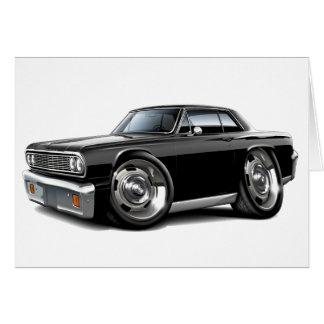 1964 Chevelle Black Car Card