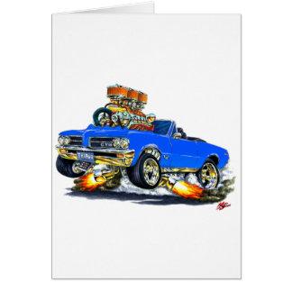 1964 GTO Blue Convertible Card