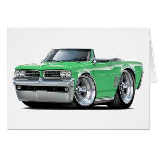 1964 GTO Green Convertible Card