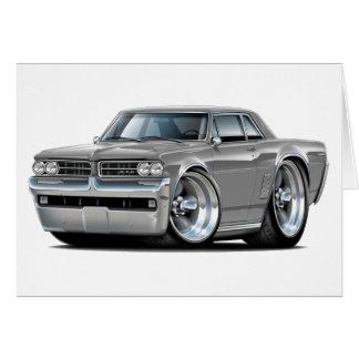 1964 GTO Grey Car Card