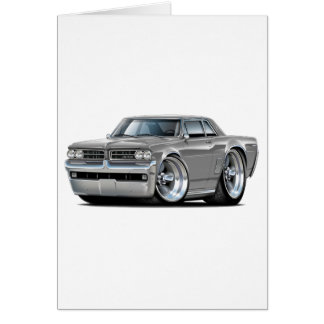 1964 GTO Grey Car Card