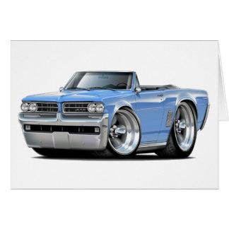1964 GTO Lt Blue Convertible Card