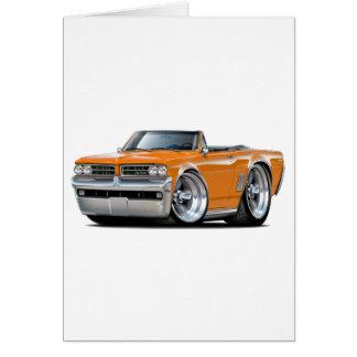 1964 GTO Orange Convertible Card