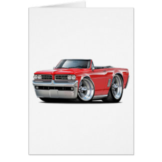1964 GTO Red Convertible Card