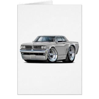 1964 GTO Silver Car Card