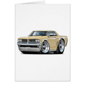 1964 GTO Tan Car Card