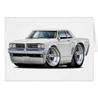 1964 GTO White Car Card